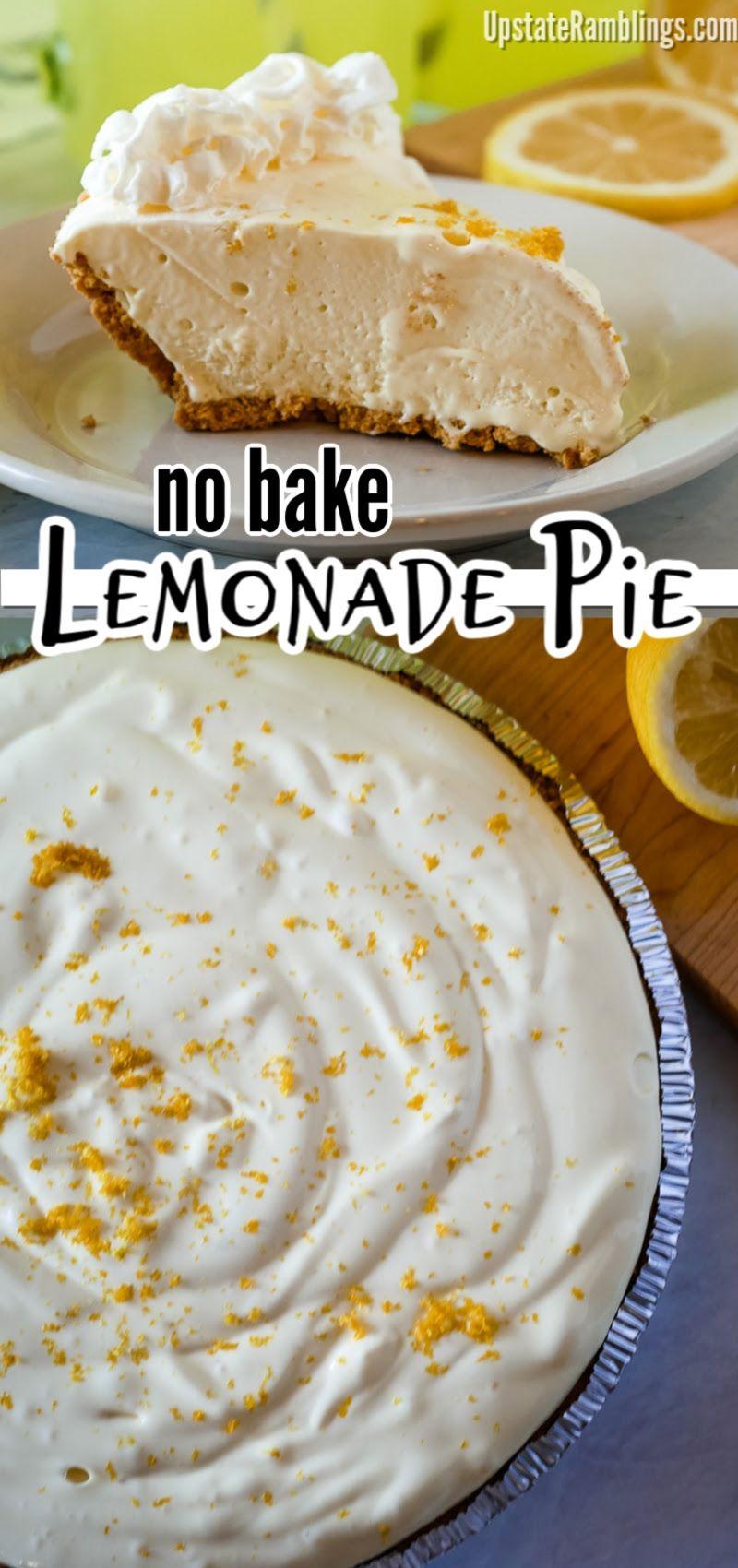 No Bake Lemonade Pie -   19 desserts Sweets simple ideas