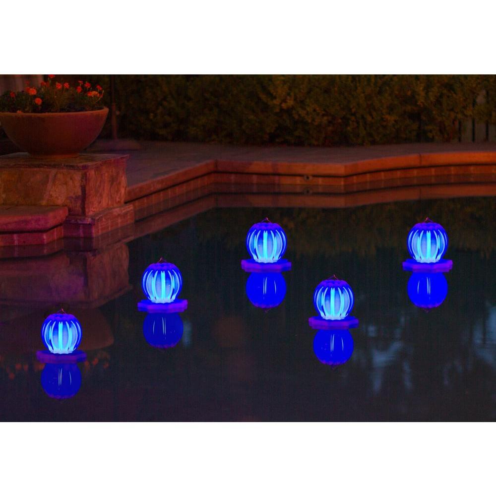 Poolmaster Floating Solar Swimming Pool Lantern - 2 Pack in ...