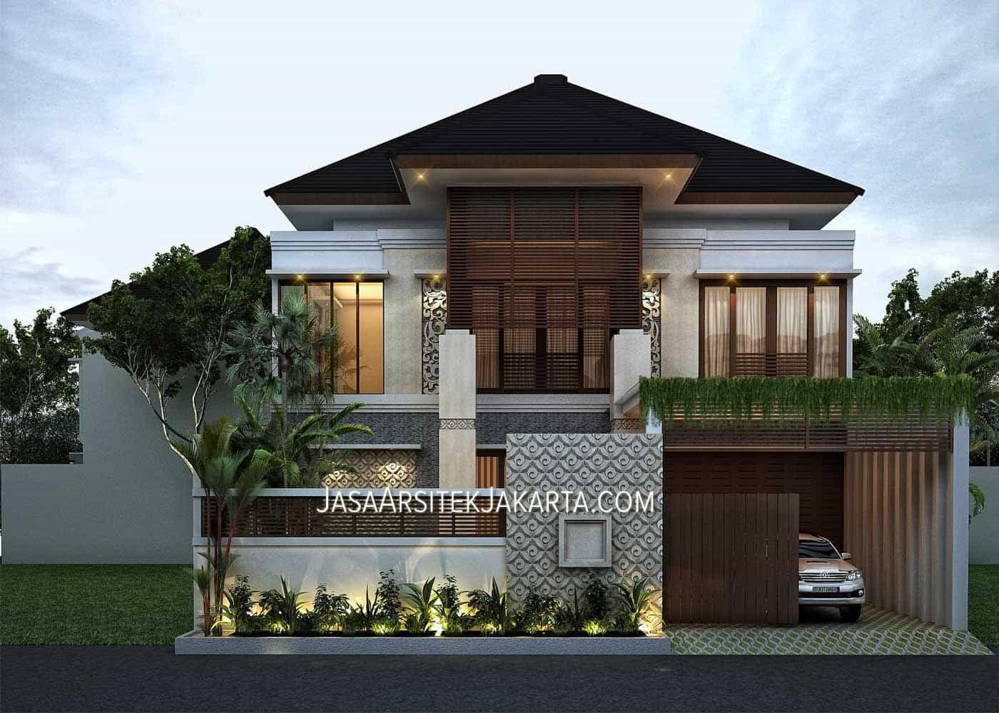 Desain Rumah Mewah Dan Elegan Cek Bahan Bangunan