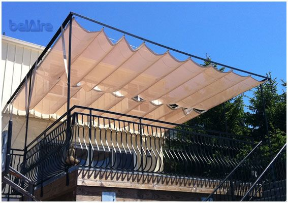 Belaire Engineering Architectural Awnings Company Products Residential Commercial Canvas Canopies