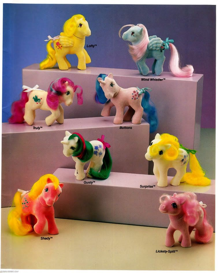 Vintage Toy G1 MLP Toy Playset Vintage Pony Toy for Girl MLP Baby Ponies My Little Pony Nursery Playset 80s Toys for Girls