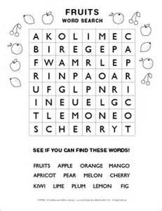 Amazing image in easy word search printable