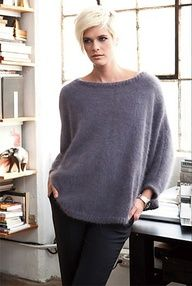 Draped Pullover by Jeannie Chin  VOGUEknitting Winter 2011/12