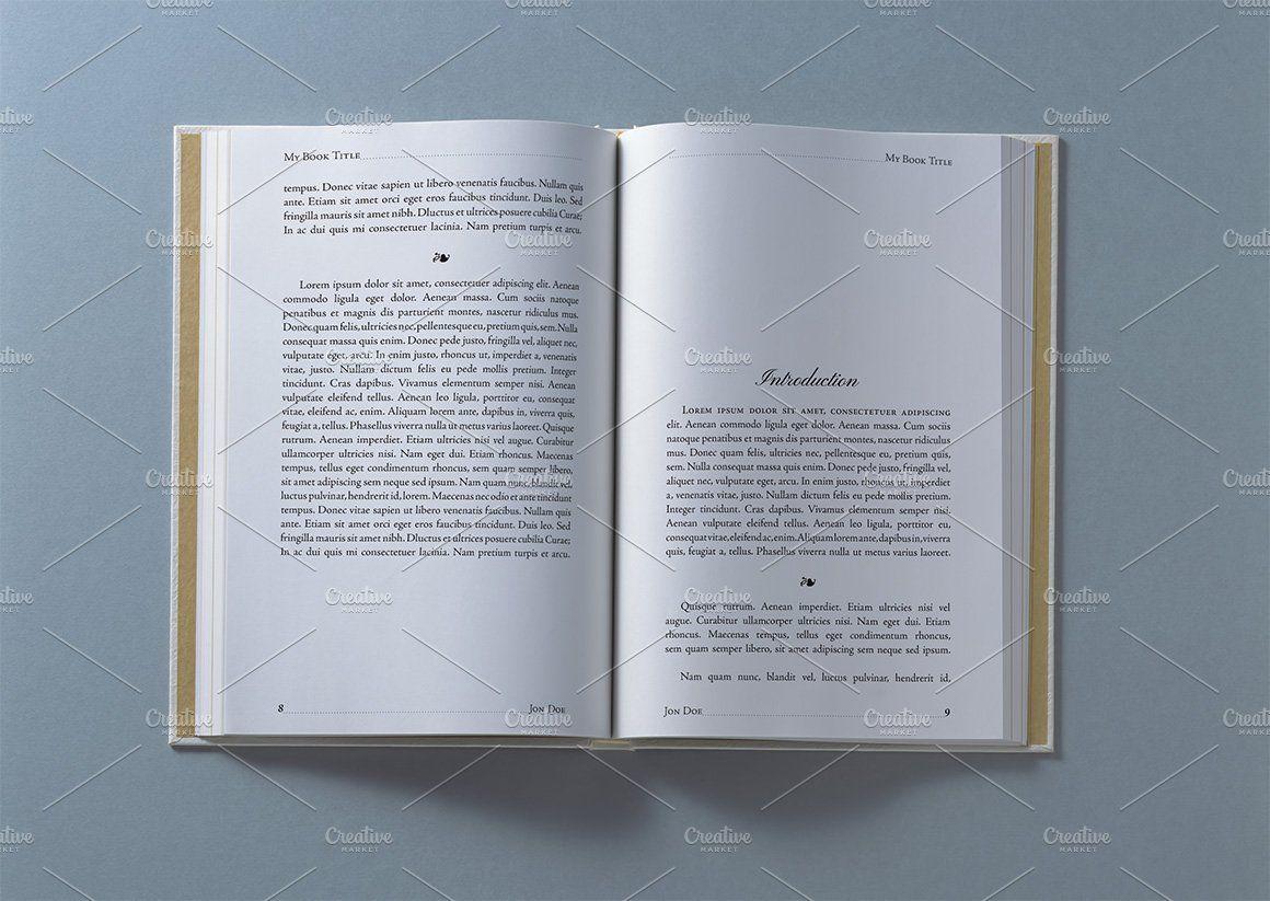 4 Books Interior Pages Mockups Freelance Graphic Design Mockup Books