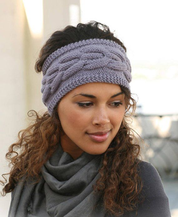 Headbands For Women Knit Accessories Gif - Diy Crafts