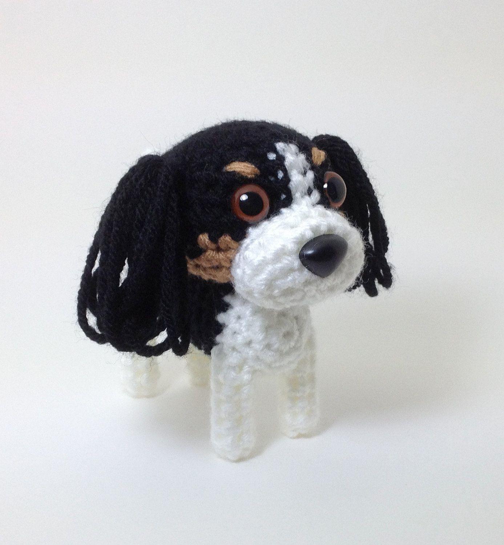 Cavalier King Charles Spaniel Puppy Plush Amigurumi by Inugurumi ...