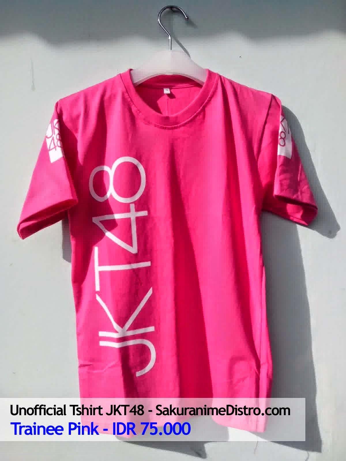 Desain t shirt jkt48 - Jual Kaos Jkt48 Trainee Pink Minat Hubungi 085727298852 Sms Wa Pin Bb 51781db2