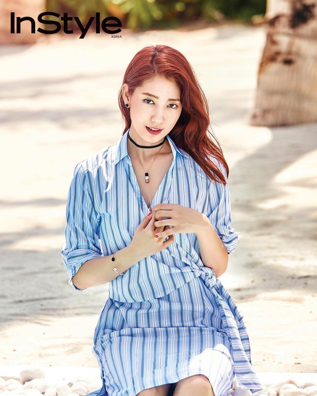 Park Shin Hye for InStyle Korea June 2017