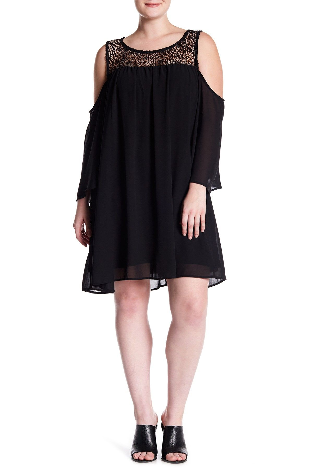 Want & Need   Cold Shoulder Dress (Plus Size   Nordstrom ...