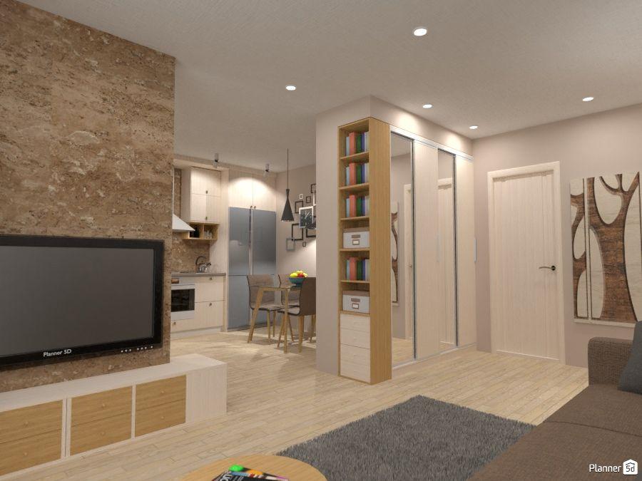 Living Room Entryway Interior Planner 5d