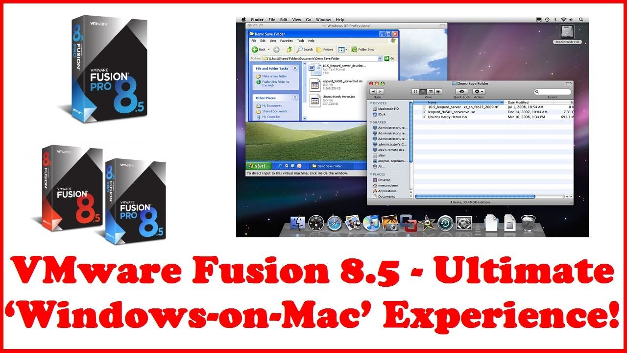 Download vmware fusion 8.5.8 (for mac os x)