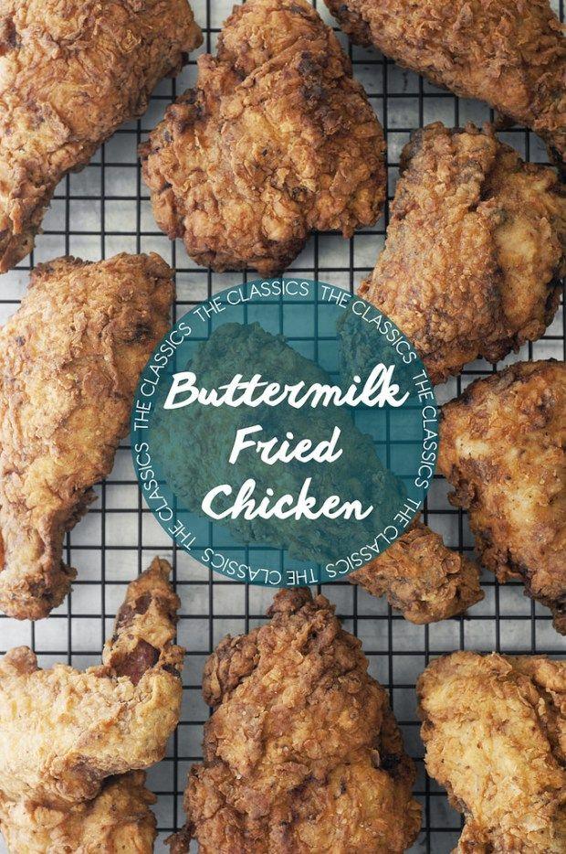 The Classics: Buttermilk Fried Chicken
