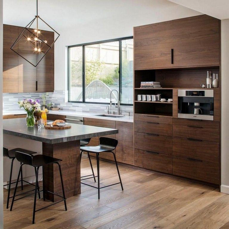 40 Smart Modern Kitchen Cabinet Designs You Need To See Modern Kitchen Cabinet Design Kitchen Cabinet Design Industrial Kitchen Design