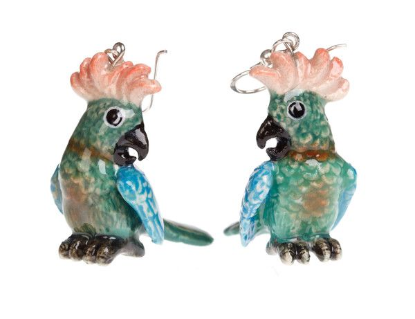 Parrot Earrings | And Mary
