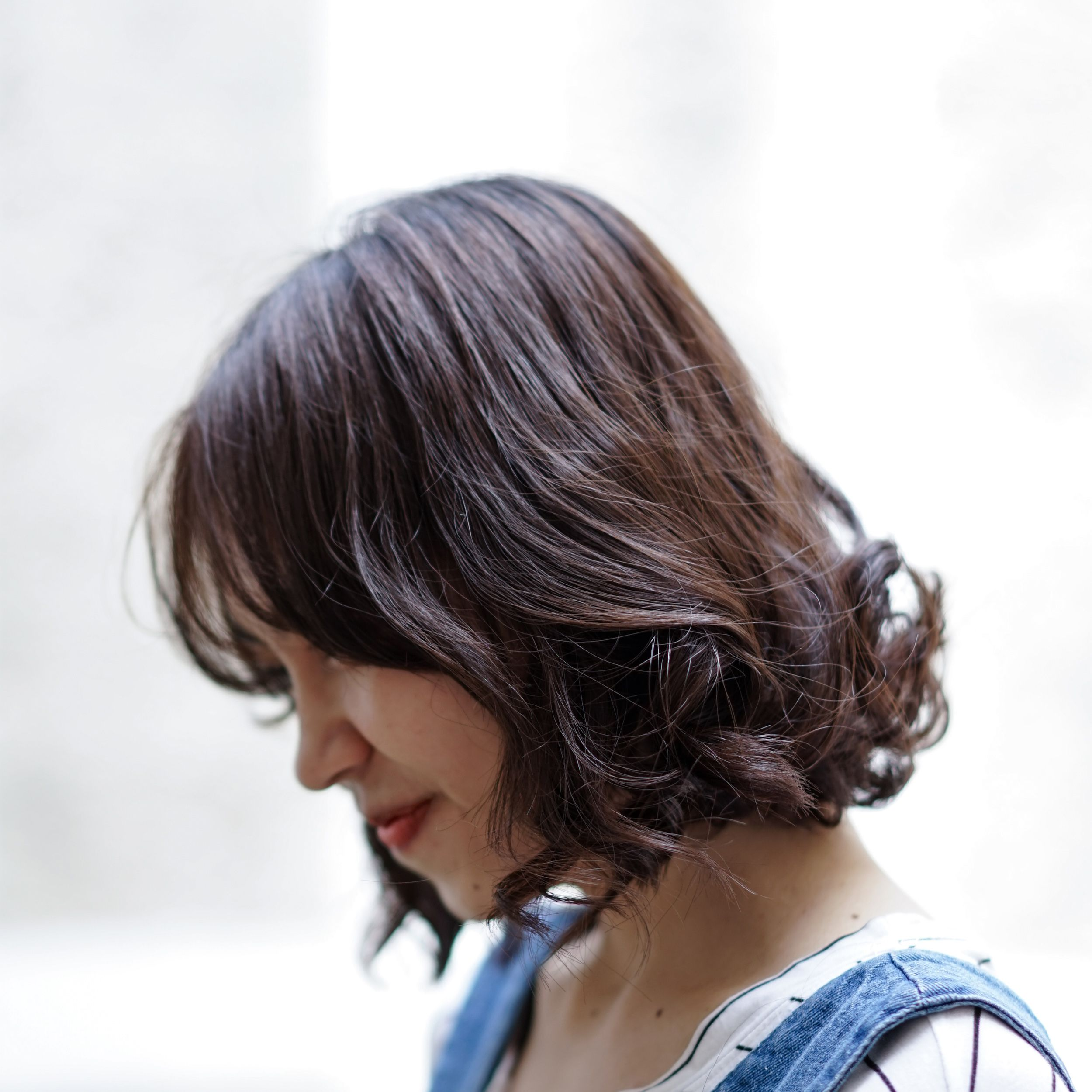 Hair Styling Idea For Short Hair Curl Cny Hairstyle Idea