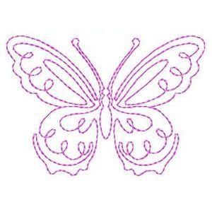 Butterflies Butterflies - Free Instant Machine Embroidery Designs