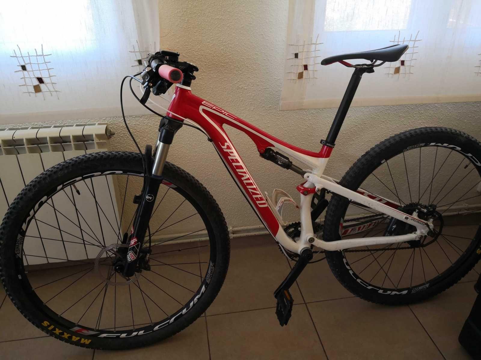 Bicicleta De Montaña Specialized Epic Ref 44666 Talla S Año 2012 Cambio Otro Sram Cuadro De Aluminio Suspensión Doble Rue Bicicletas Bicicletas Mtb Mtb