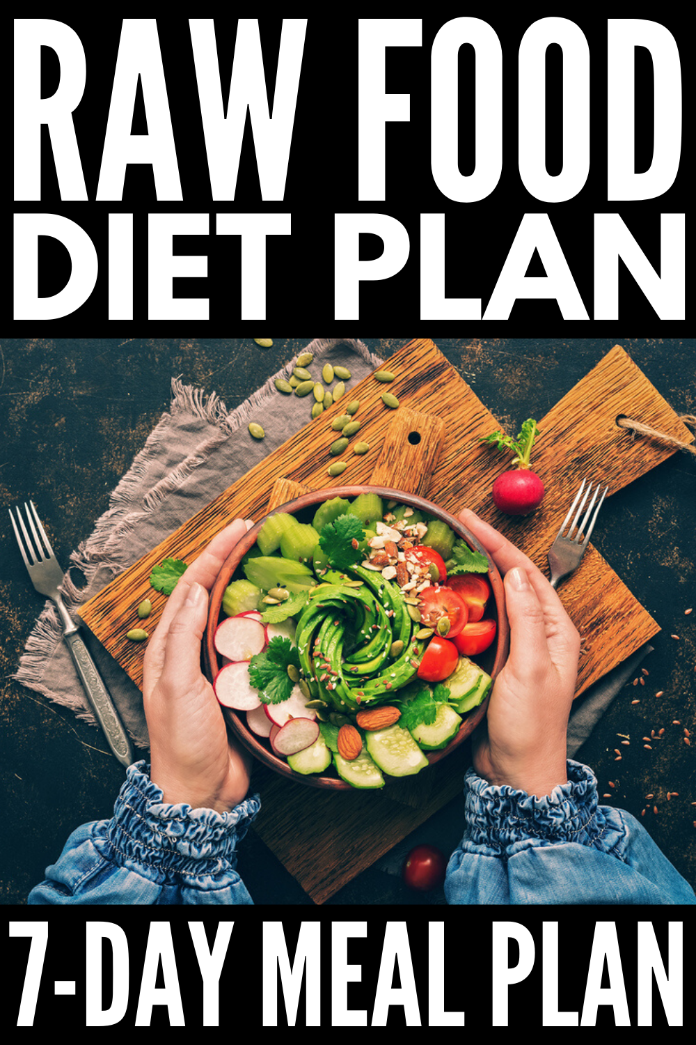 The Raw Food Diet 7Day Meal Plan for Beginners in 2020