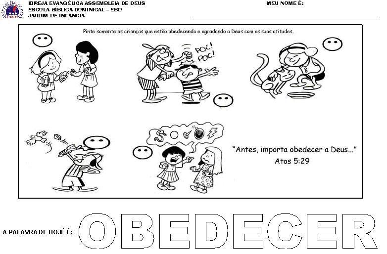 A Igreja Na Educacao Da Crianca Bing Imagens Atividades