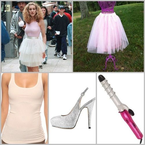 Carrie Bradshaw inspired halloween costume by Straight From The Heartland #notsosleazyhalloween  sc 1 st  Pinterest & Carrie Bradshaw inspired halloween costume by Straight From The ...