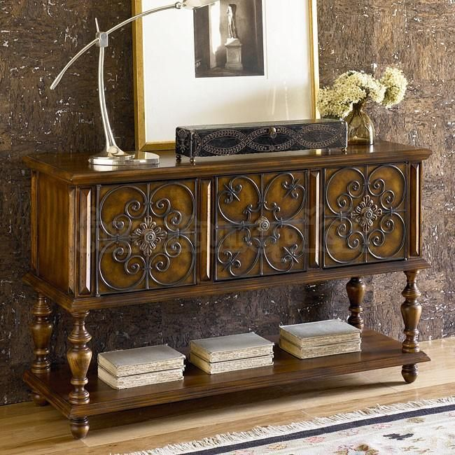 Home Decor, Unique And Modern Console Table With Storage With The Great And Elegant Design Ideas For Your Room With Great Motif With Flower Vaseand Table Clock Also Elegant And Shiny Wall ~ The Beautiful Console Tables With Storage To Create The Neat And Great Room