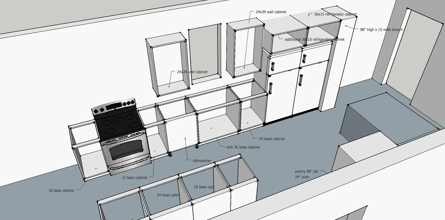 What Does A 2 Hour Consult Look Like Kitchen Layout Ikea Cabinets Floor Plans