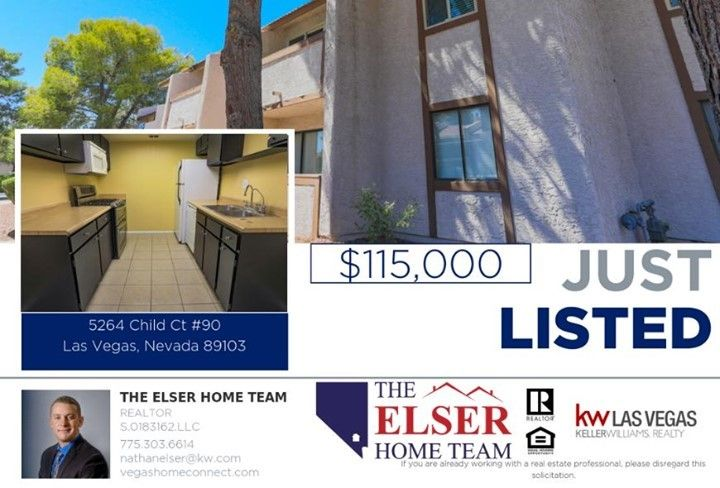 Got this great unit on the market! Great age restricted community with lots of amenities under $120,000! #lasvegas #lasvegashomes #lasvegasrealestate #condo #justlisted