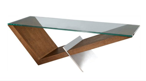 Rectangular Glass Coffee Table, Coffee Tables Glass And Wood
