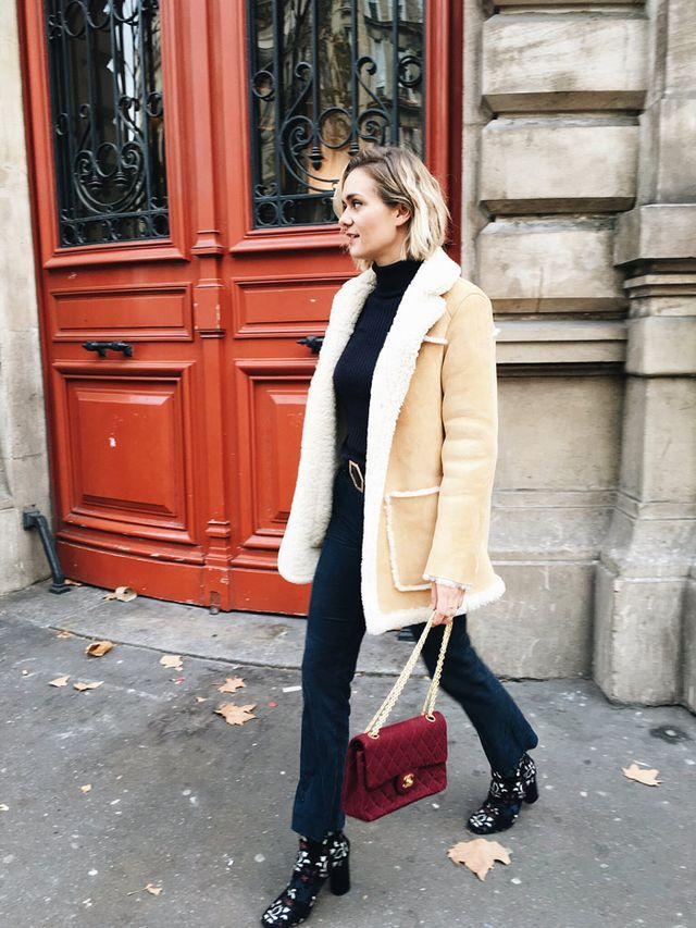 5 Ways To Style A Shearling Coat (Bloglovin' Fashion) | fashion