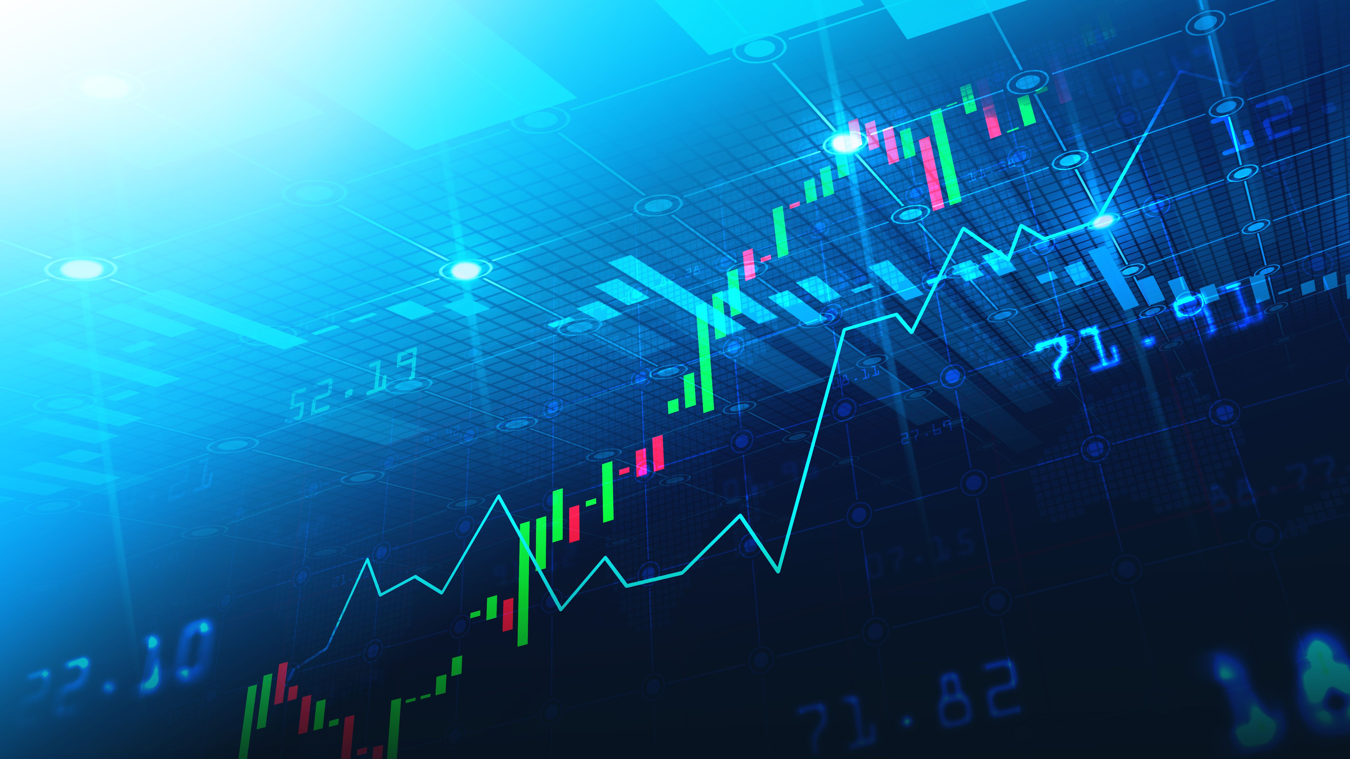 Stock Market Or Forex Trading Graph In Graphic Concept Stock Market Stock Data Forex Trading