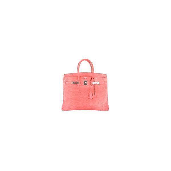 442a1a1de6a6 free shipping hermes birkin bag 35cm matte pink crocodile pink bougenville  por liked on polyvore 57c78