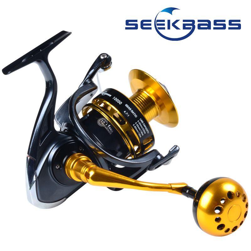 Heavy Duty Spinning Jigging Reels Saltwater Rock Fishing Reel Anti-Corrosion