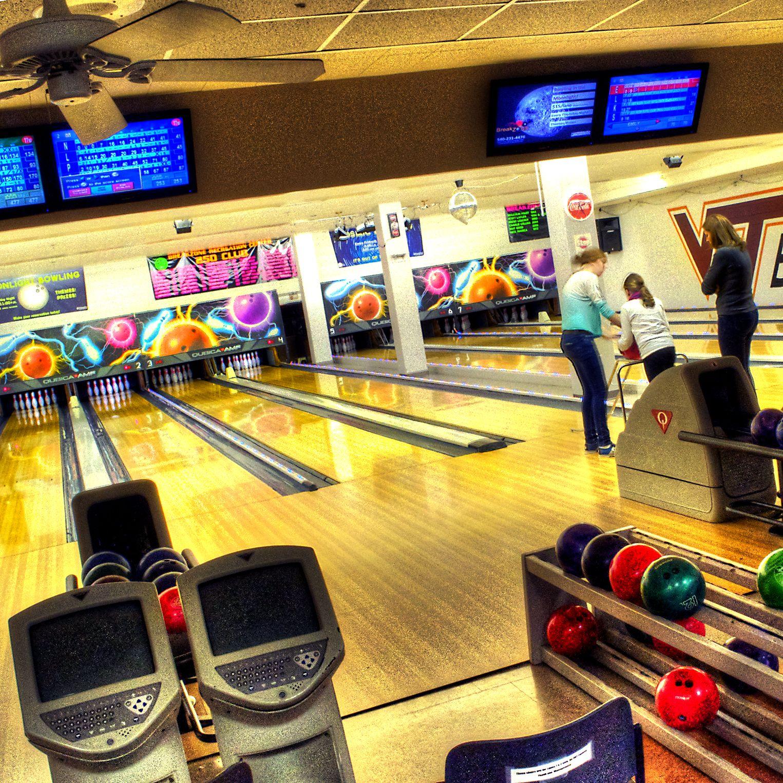 Virginia Tech, Squires Student Center bowling! #virginia tech #vt ...