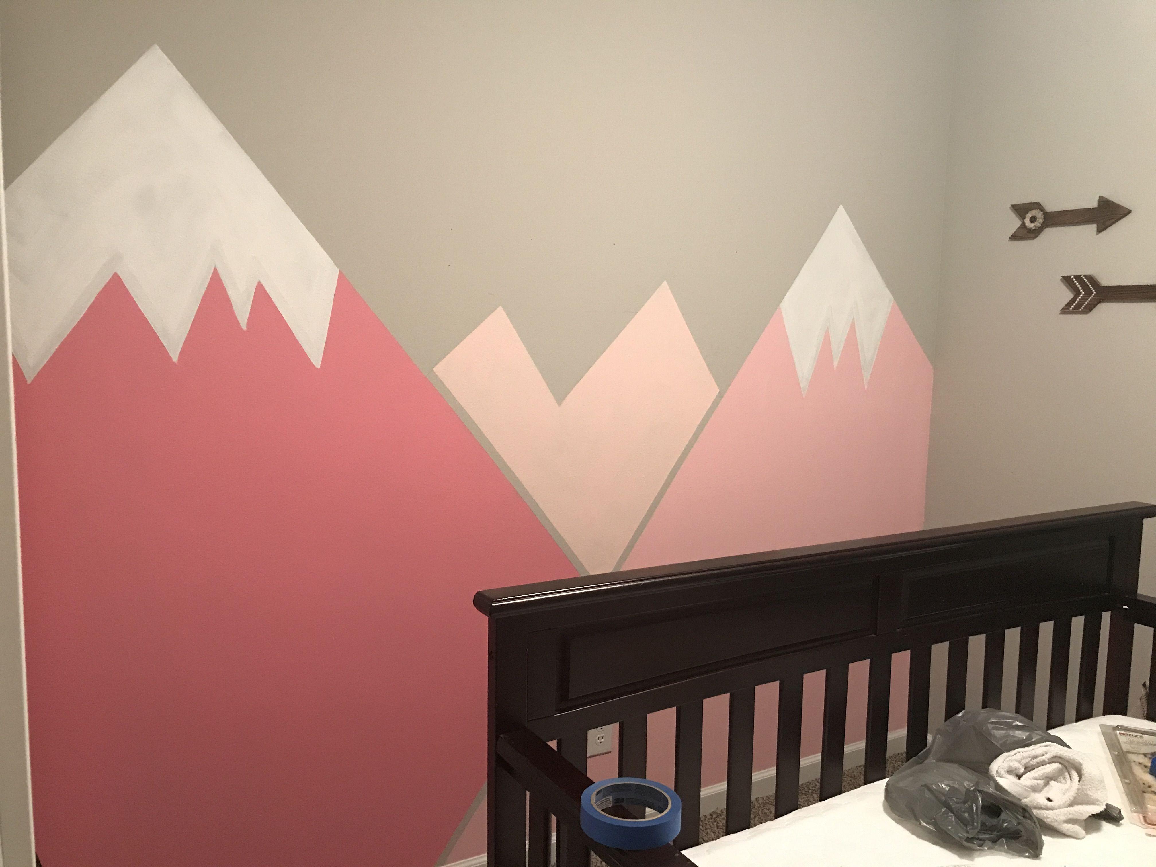 Our Mountain Nursery Wall Mural