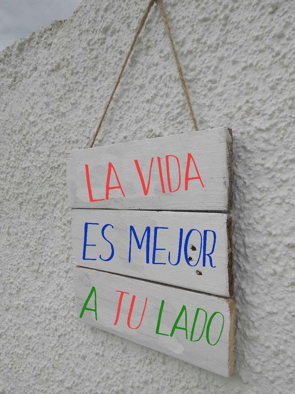 letrero cartel vintage de madera he... en Santa Pola - letgo ...