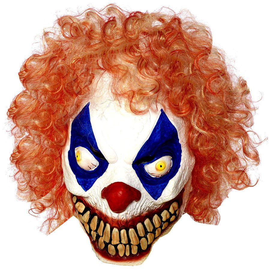 Details about Popular Halloween 'Scary Clown with Curly Hair ...