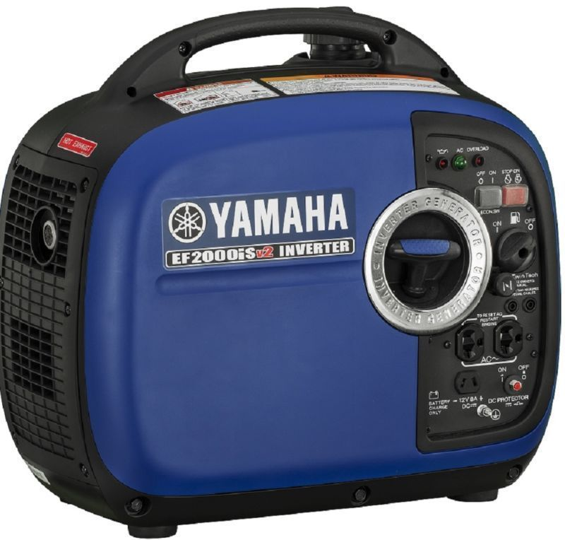 Yamaha EF2000isV2 2000 Watt Portable Generator - EF2000is