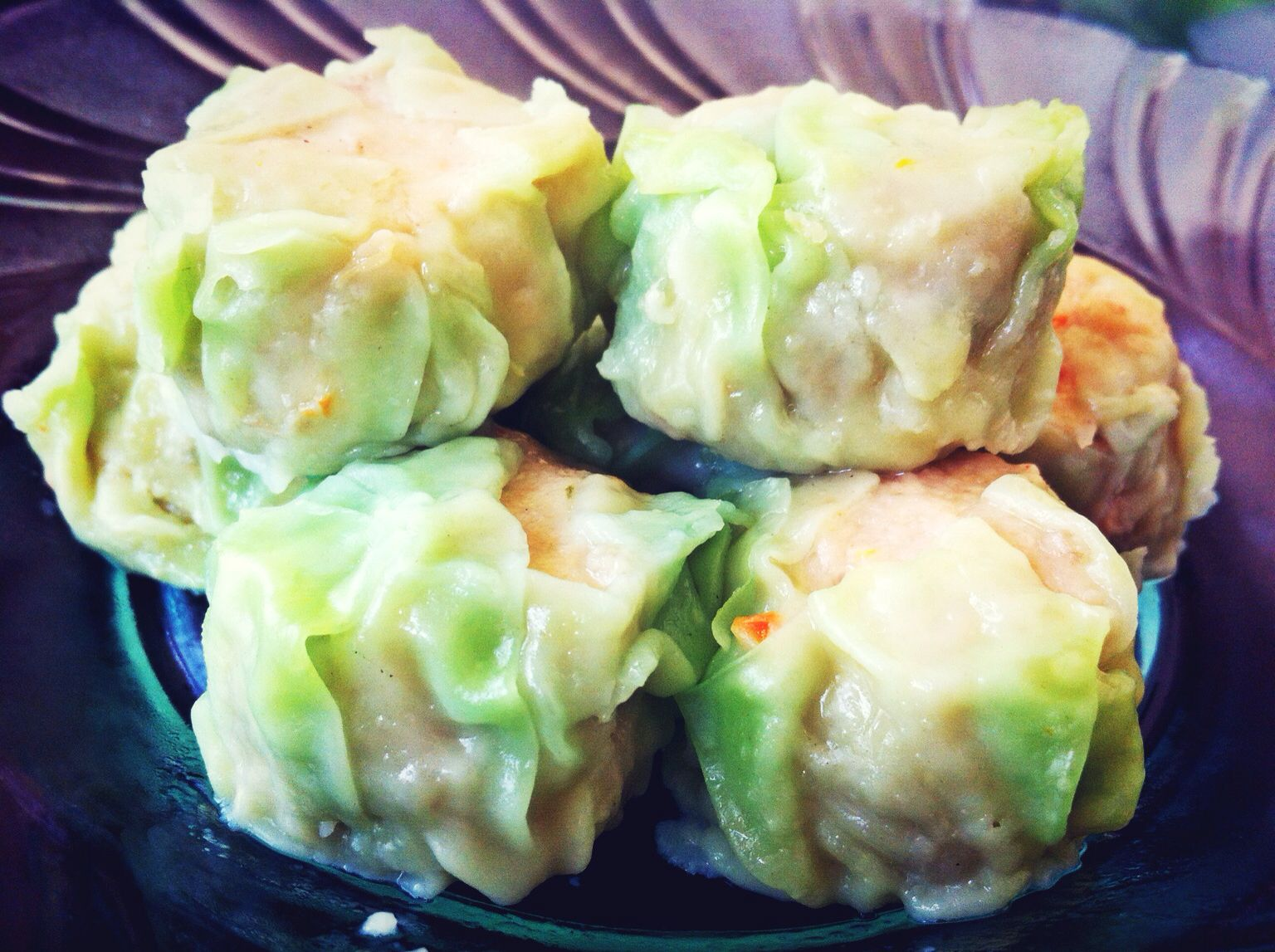 Image result for cabbage beef shumai