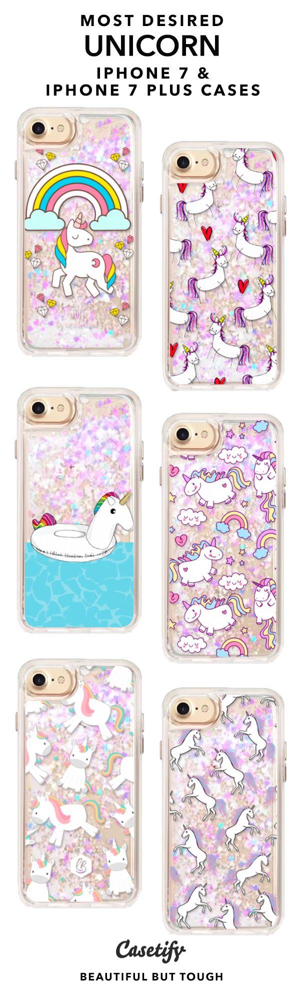 Unicorn phone case sparkle design cute