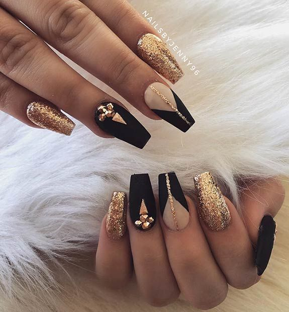 43 Beautiful Prom Nails for Your Big Night | Page