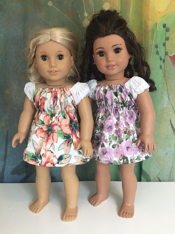 American Girl Adorable Boho Lace Floral Dress | American Doll ...