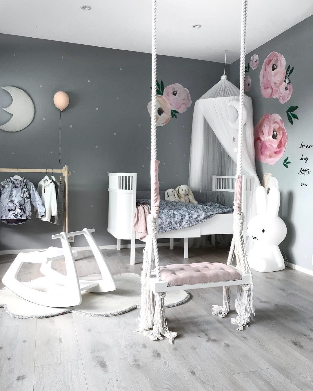 Es muss nicht immer Rosa sein! So könnt ihr ein Mädchenzimmer wunderschön einrichten #kleinkindzimmer