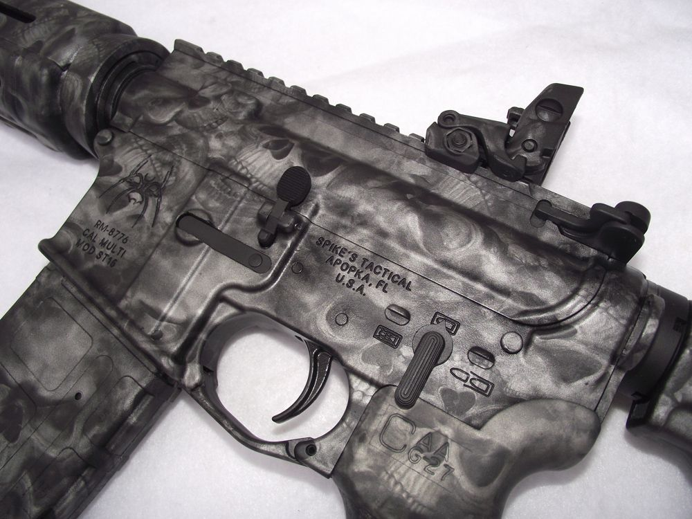 Reaper Black AR-15 | Products with Our Camo | Guns, Custom ...