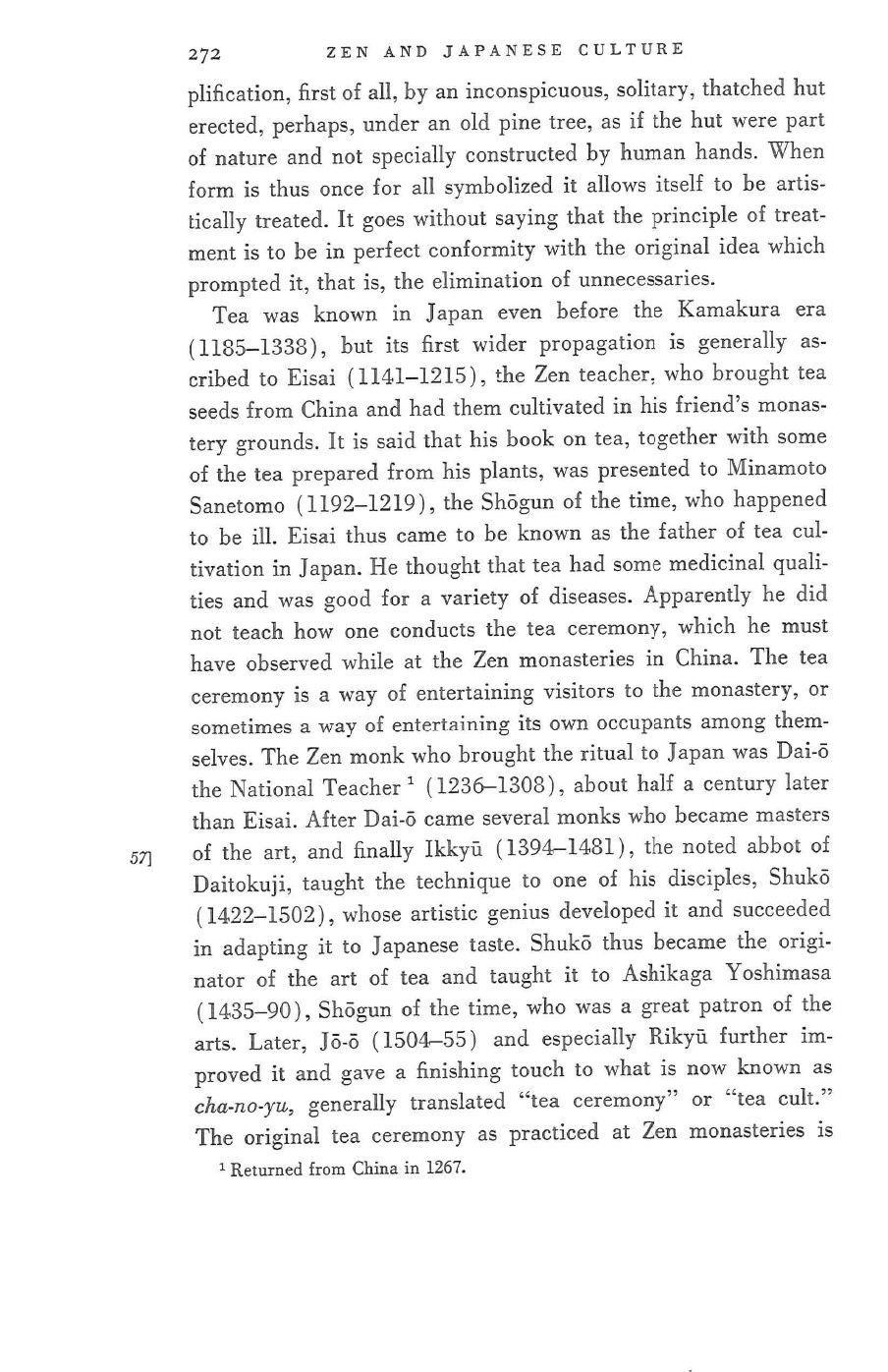 D.T.Suzuki - Zen and Japanese Culture.pdf | Zen and Japanese Culture