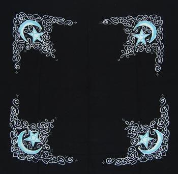 Celtic Moon Altar Cloth/Scarf