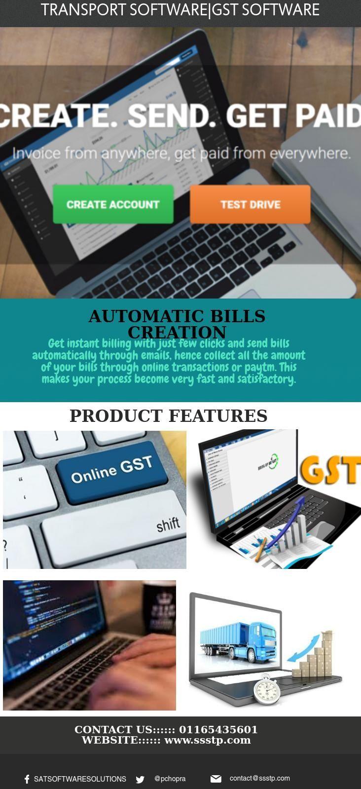 Make your transport business runs like on full swing, GST billing, E