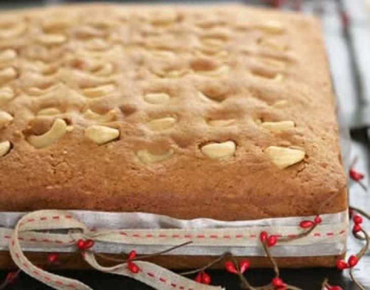 Festive semolina cake recipe semolina cake almond