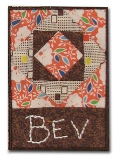 Quilt Guild Name Tags & Fabric Postcards | Quilting | Pinterest ... : quilting name tags - Adamdwight.com