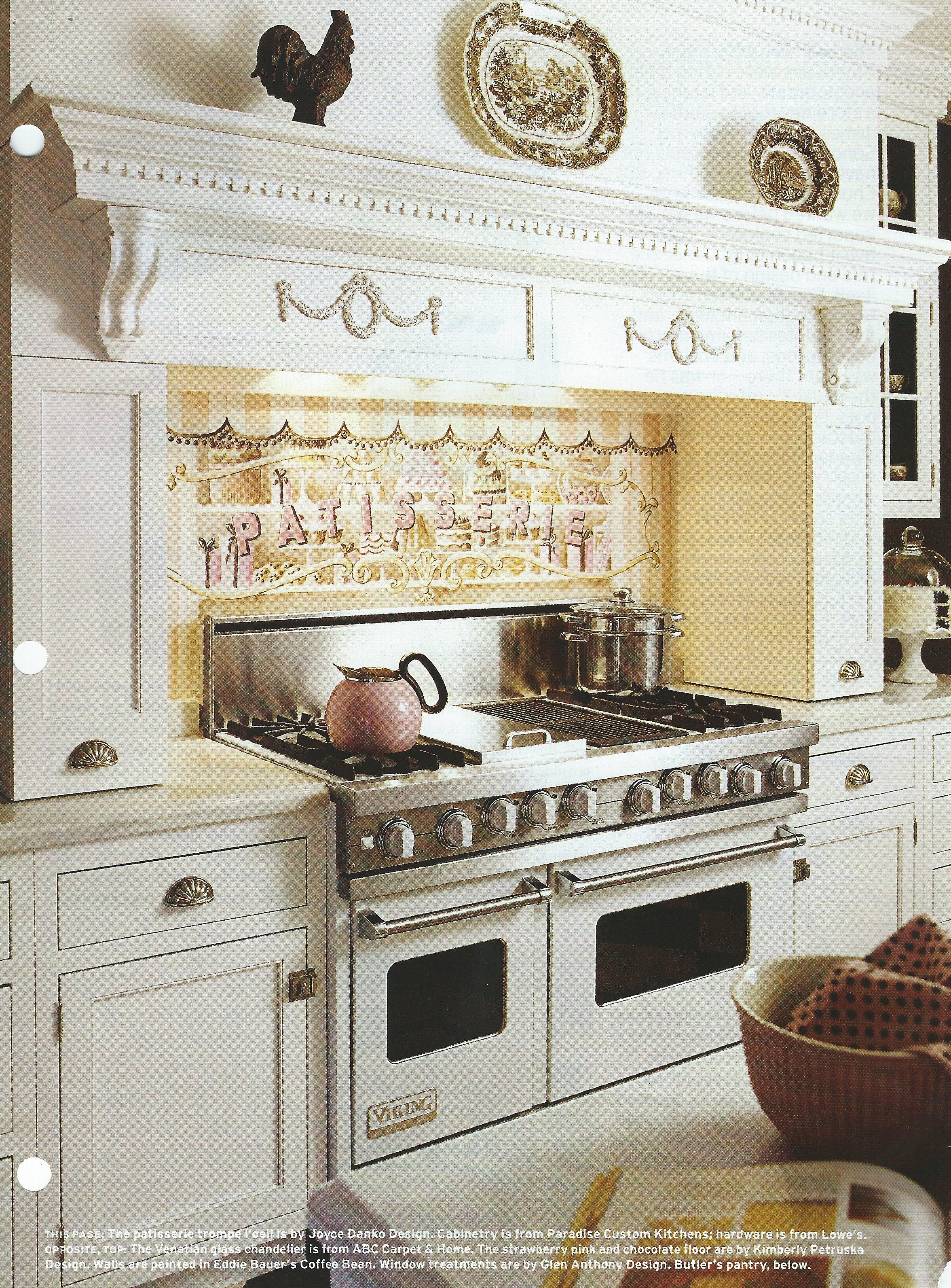 Chocolate Kitchen pink and brown candy decor   HOME AND FURNITURE ...