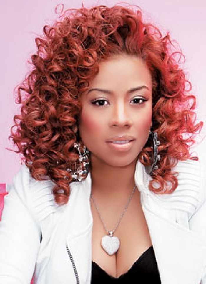 Unique Keyshia Cole Short Curly Hairstyles Styles Design